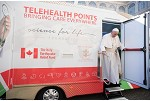 Pope Inspects Mobile Hospital